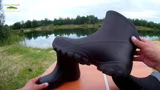 Резиновые сапоги для рыбалки мужские