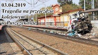 03.04.2019 Tragedia Na Przejeździe Kolejowym W Puszczykowie