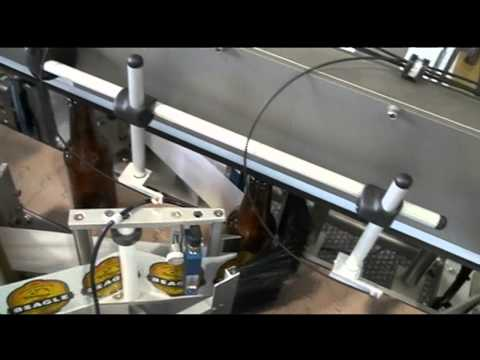 Paradigm 700 NW Pressure Sensitive Labeler for Round Containers