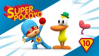 Super Pocoyo teaches children to play creatively