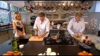 Gordon Ramsay Christmas Cookalong Live 2011 Part 1