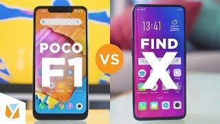 Xiaomi Pocophone F1 vs OPPO Find X Comparison Review