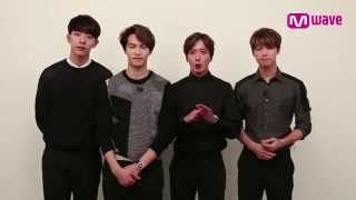 Greetings to Mwavers from CNBLUE!