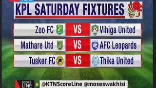Scoreline: KPL fixtures
