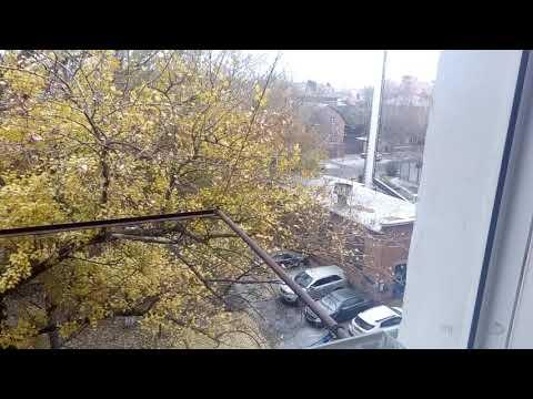 Первый снег в Ростове-на-Дону