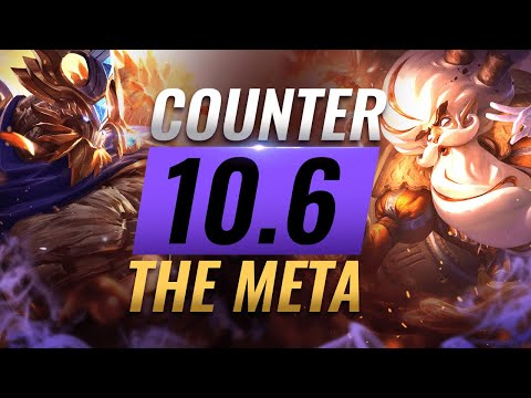 COUNTER THE META: BEST Counterpicks For EVERY ROLE - Patch 10.6 - League of Legends Season 10