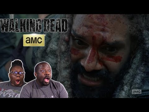 The Walking Dead 8x4 REACTION!! {Some Guy}