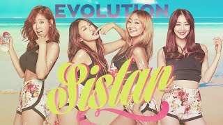 The Evolution of SISTAR (씨스타) - Tribute to K-POP LEGENDS (2010-2017)
