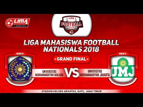 UMM VS UMJ, GRAND FINAL LIGA MAHASISWA FOOTBALL NATIONALS 2018, 25 September 2018