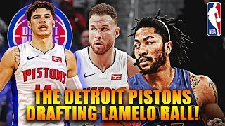 The Detroit Pistons Are Drafting Lamelo Ball!