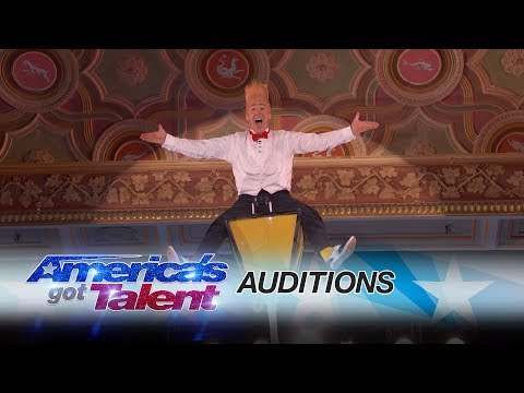 Bello Nock: Circus Performer Thrills From Towering Heights - America's Got Talent 2017