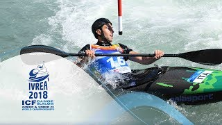 2018 ICF Canoe Slalom Jnr & U23 World Championships Ivrea / Jnr SFs, Finals – C1m, K1w | Kholo.pk
