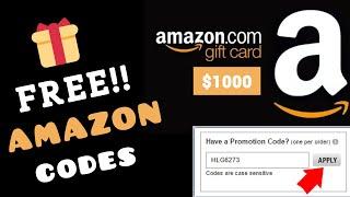 100% FREE Amazon Gift Card Codes! 2020 (No Human Verification) Make Money Online