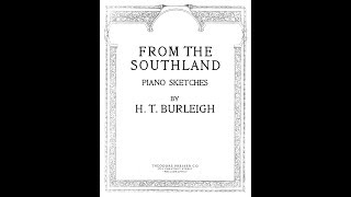 """From The Southland"" Harry T. Burleigh, Roy Jennings, Eddie Pleasant and Horace Maxile"