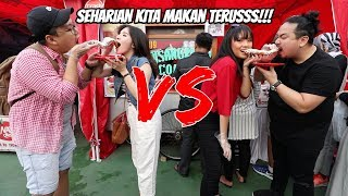 Download Video BATTLE HABISIN MAKANAN MANIS GA SAMPAI 30 DETIK!!! FT. MGDALENAF DAN KEN&GRAT MP3 3GP MP4