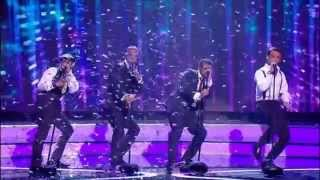 JLS - Ain't That a Kick in the Head (The X Factor UK 2008) [Live Show 3]