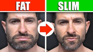 SLIM A FAT FACE (FAST)! 4 Tips to Lose Face Fat & Look More Defined