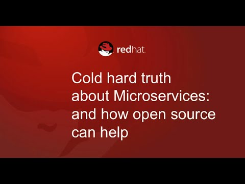 The cold hard truth about microservices and how open source can help