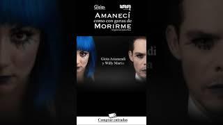 Invitación Promo Obra «Amanecí con ganas de Morirme»