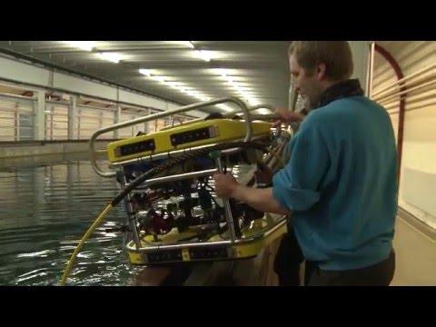 MARINTEK har fått en ROV (undervannsfarkost) til bruk i forbindelse med modellforsøk.