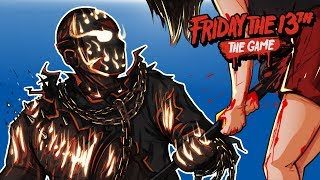 Friday The 13th - CAN'T KILL DLC SAVINI JASON! (UNMASKED!)