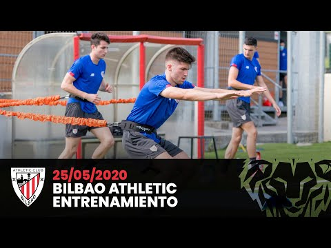 Bilbao Athletic training session (05-25-2020)