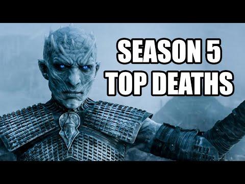 Game of Thrones Season 5 Top Deaths | MTW