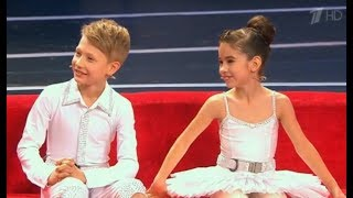 Воздушные гимнасты Тимофей Назаров и Елизавета Сорокина  12  2017.
