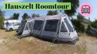 Outwell Hauszelt Roomtour Vermont 7SA I Campen mit Baby und Kleinkind I AllesClärchen