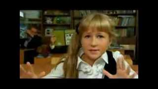 Девочка читает реп про школу, супер класс!