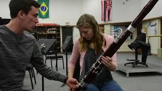 Beginning Bassoon Lesson