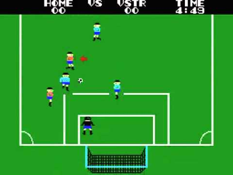 Champion Soccer Japan MSX Gameplay video Snapshot