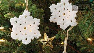Crochet Popular Snowflake Pattern