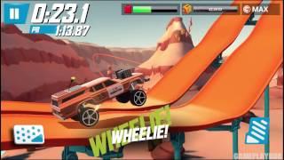 Hot Wheels: Race Off - Unlock ALTERNATIVE Tracks - iOS/Android - Gameplay Video