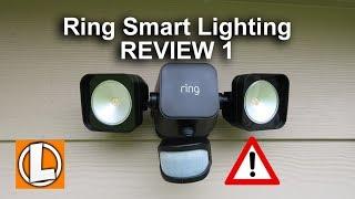 Ring Smart Lighting Review - Bridge +  Floodlight + Spotlight + Motion Sensor + Issues