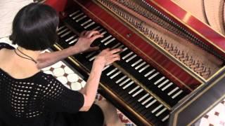 Haydn Harpsichord: Comparone plays Sonata in B minor, # 32: Menuet & Trio