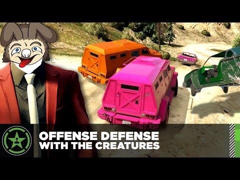 Let's Play - GTA V - Offense Defense with The Creatures (#5)