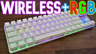 A Wireless Mechanical Keyboard? | Drevo Calibur 71 Key Bluetooth RGB Keyboard Review