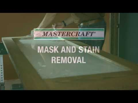 MASTERCRAFT Interior Doors > Interior Doors > Mask and Stain Removal