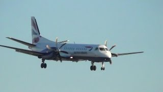 preview picture of video 'London City Airport Plane Spotting from Runway End'