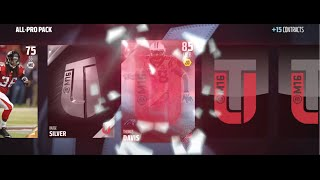 ALL PRO PACK OPENING! GUARANTEED ELITE! - Madden 16 Ultimate Team Pack Opening