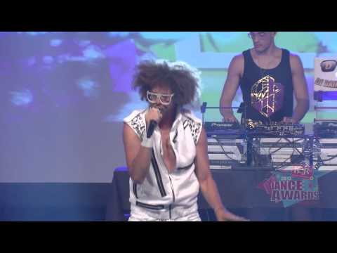 Redfoo of LMFAO KARtv Dance Awards 2013
