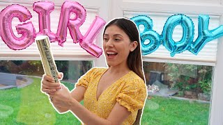 The OFFICIAL GENDER REVEAL! *BOY Or GIRL?*