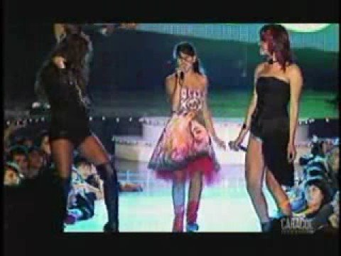 Premios Shock 2008victoria Surhomenaje... Adriana Lucia