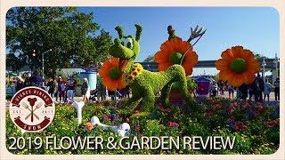2019 Epcot International Flower & Garden Festival | Disney Dining Show | 03/08/19