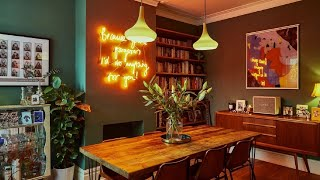 The Vibrant Eclectic Home In Manchester ▸ Interior Design