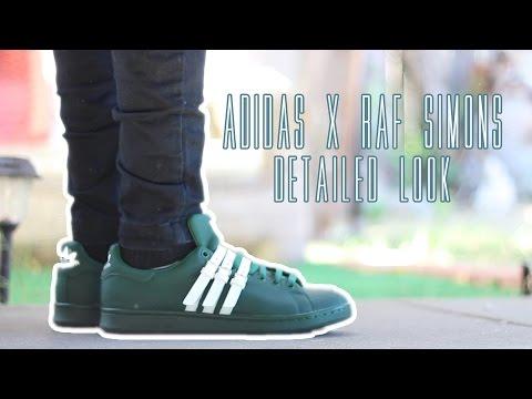 Detailed Look: adidas x Raf Simons   Triple Strap Stan Smith