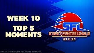 SFL: PRO US 2019 TOP 5 MOMENTS   Week 10 Season 1