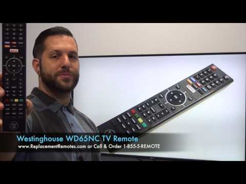 Westinghouse WD65NC TV Remote Control