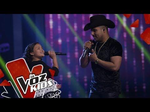 Espinoza Paz y Anabelle cantan Olvido Intencional | Cepeda Sus Amigos | La Voz Kids Colombia 2019